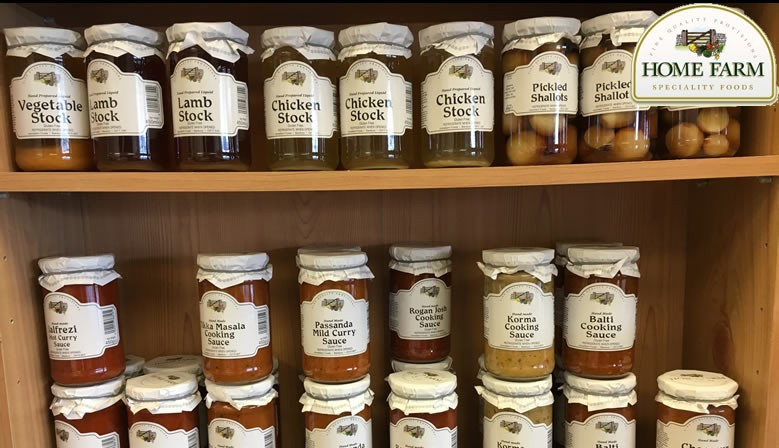We are stockists of Home Farm Specialty Foods.