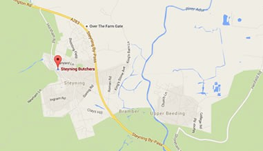 Map of Steyning