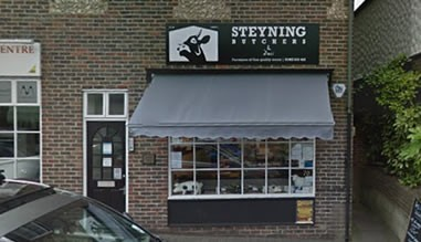 Image of our store in Steyning, West Sussex